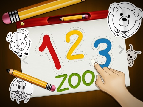 123 Zoo: Writer FREE Screenshot