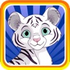 Baby White Tiger Run : Dash Race with Mittens the Super Sonic Cub