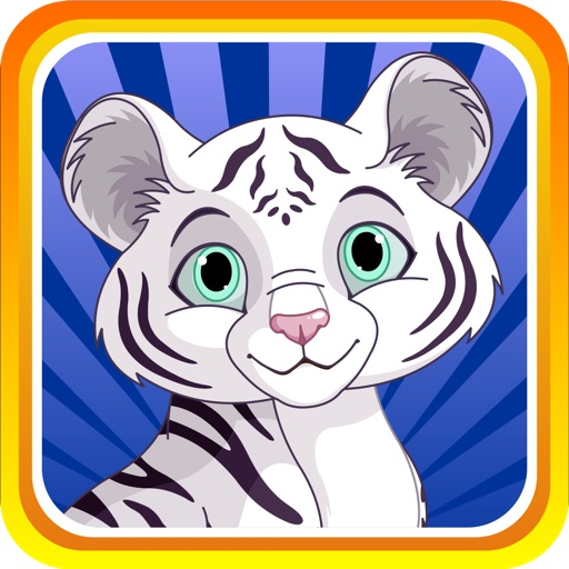 Baby White Tiger Run : Dash Race with Mittens the Super Sonic Cub Icon