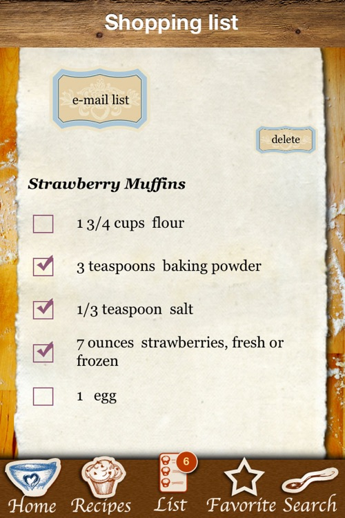 Muffins & Cupcakes - The Best Baking Recipes screenshot-3