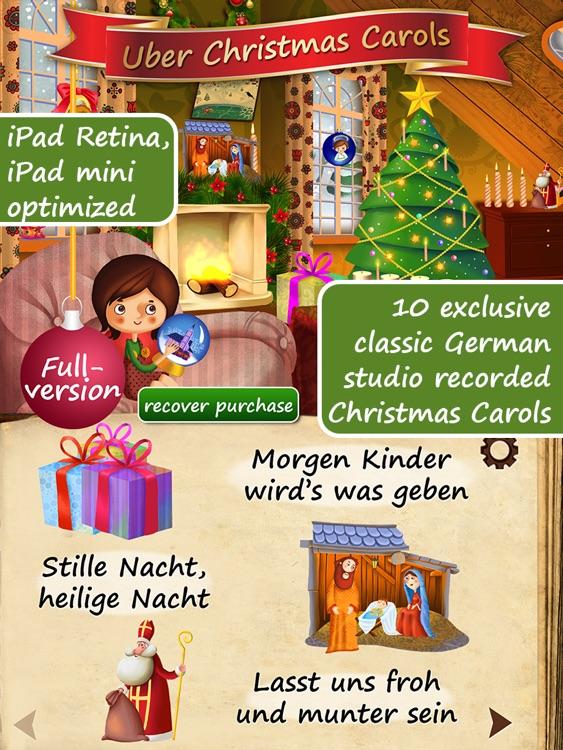 Uber Christmas Carols (German) HD | sing along and enjoy ~ Free screenshot-0