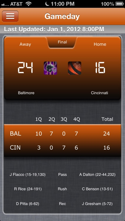 Cincinnati Football Live screenshot-0