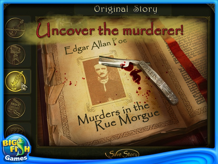 Dark Tales: Edgar Allan Poes Murder in the Rue Morgue Collector's Edition HD screenshot-4