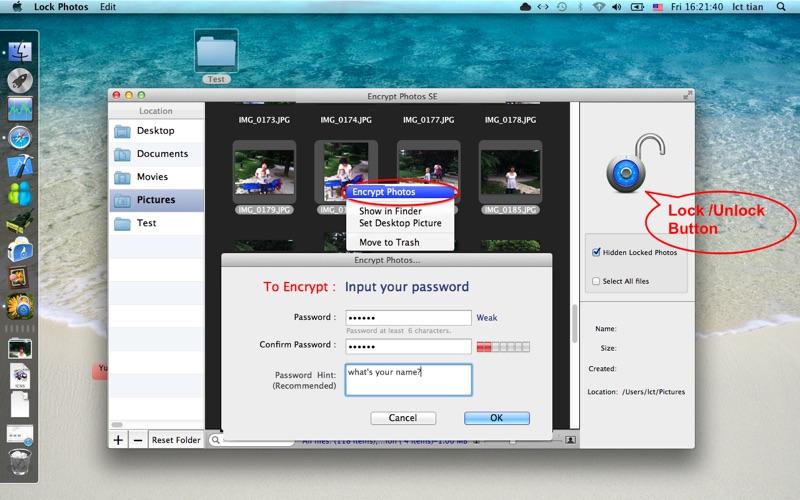 Encrypt Photos SE Screenshot