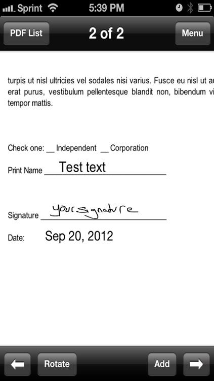 SignMyPad for iPhone screenshot-4