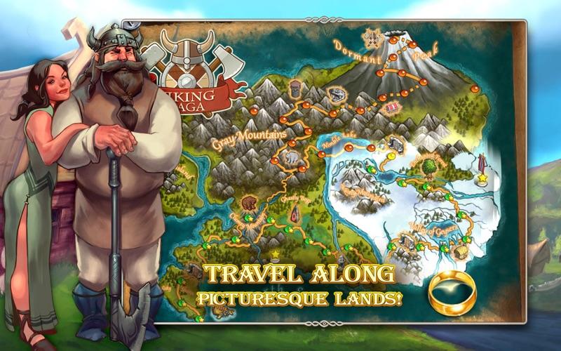 Viking Saga: The Cursed Ring (Premium) screenshot 2