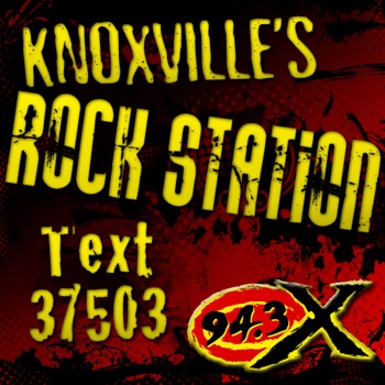 Knoxville's Rock Station / 94.3 the X / WNFZ-FM