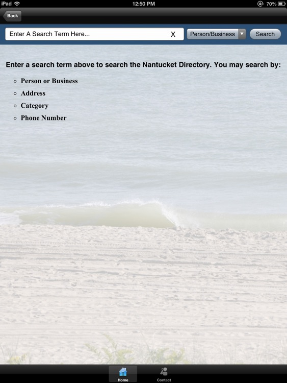 Call Nantucket Phone Directory HD screenshot-3