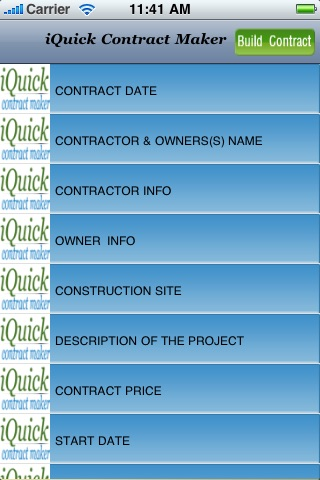iQuick Contract Maker