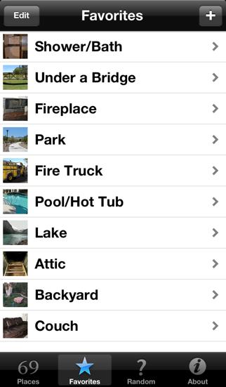 69 Places - Sex Locations & Fantasies screenshot
