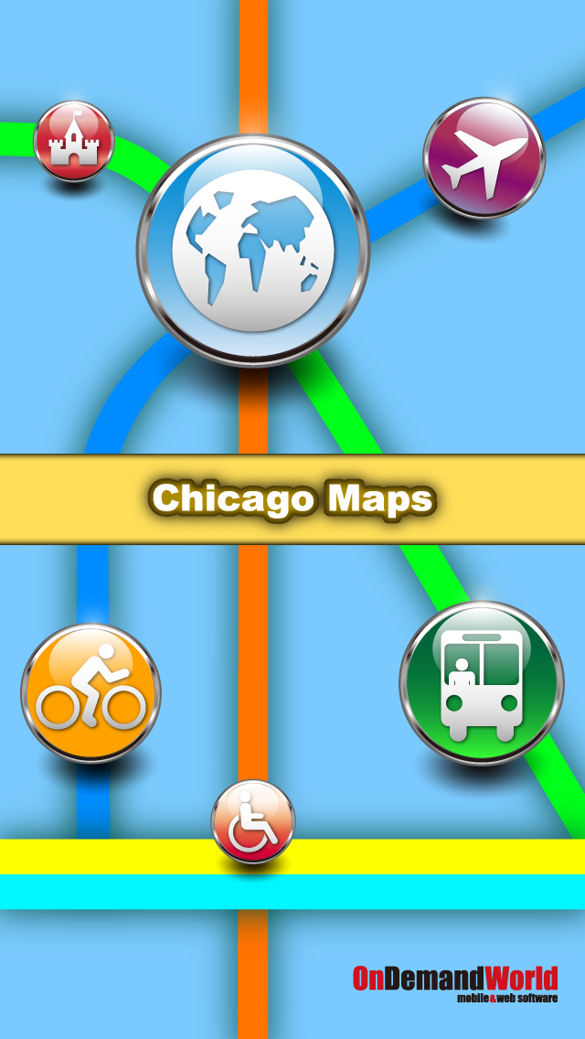 Chicago Maps - Download Transit Train Maps and Tourist