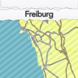Freiburg City Map Offline - MapOff