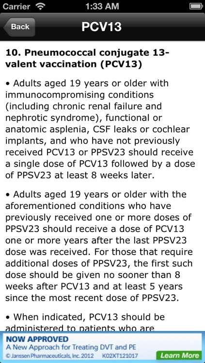CDC Vaccine Schedule for Adults & Children screenshot-4