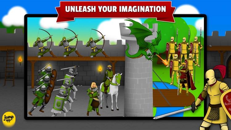 Sticker Play: Knights, Dragons and Castles - Premium screenshot-4