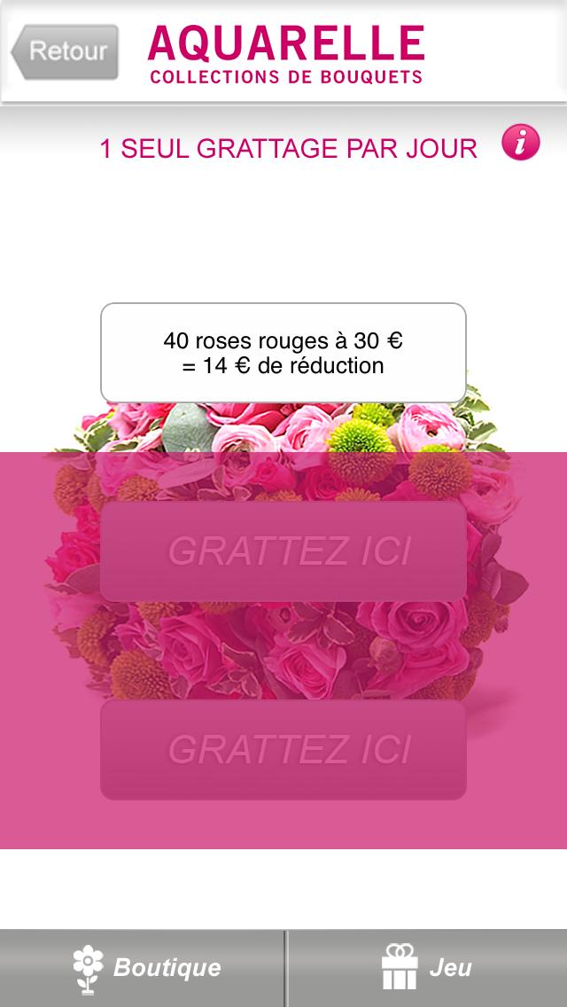 Livraison de fleurs Aquarelle screenshot three