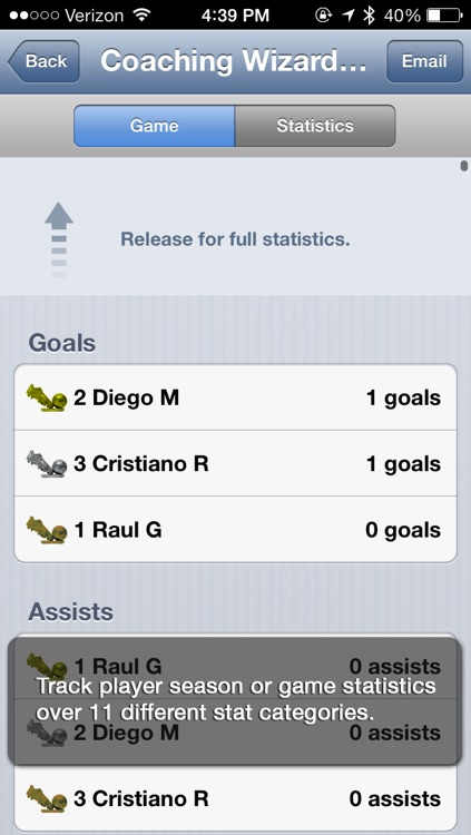 Coaching Wizard - Soccer screenshot-3