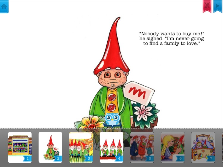 The Beardless Gnome - Have fun with Pickatale while learning how to read.