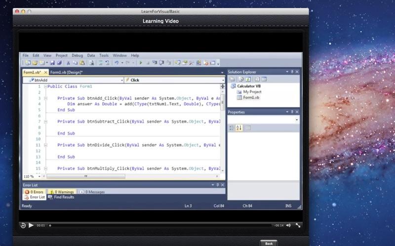 Learn For Visual Basic screenshot 3