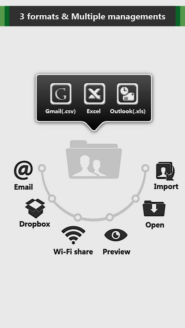 Contacts Backup - IS Contacts Kit Free Screenshot