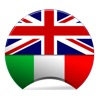 Offline Italian English Dictionary Translator for Tourists, Language Learners and Students