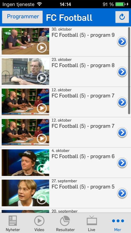 TV 2 Sporten for iPhone screenshot-4