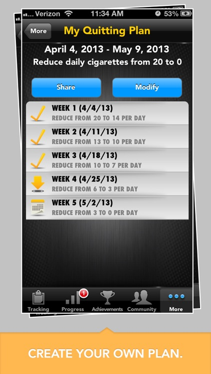LIVESTRONG MyQuit Coach - Dare to Quit Smoking screenshot-4