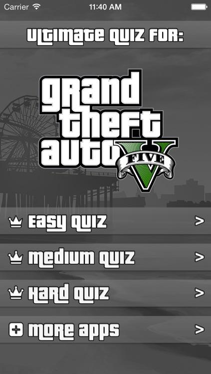 Ultimate Quiz for GTA 5