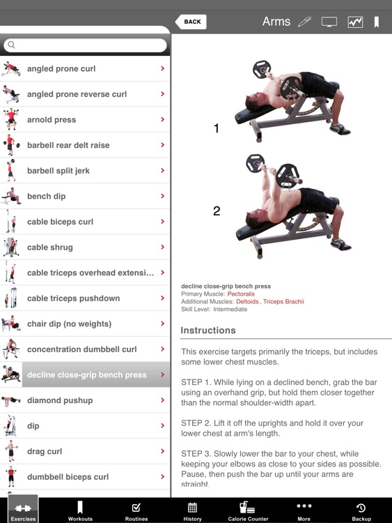Full Fitness HD for iPad screenshot-2