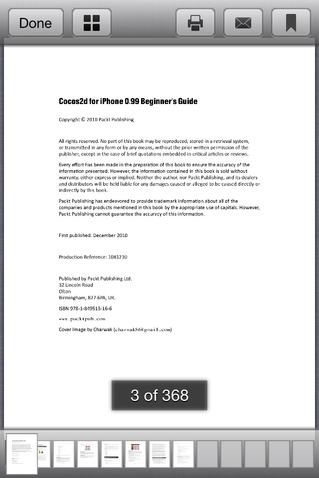 PDF Reader Free for iPhone and iPad Screenshot