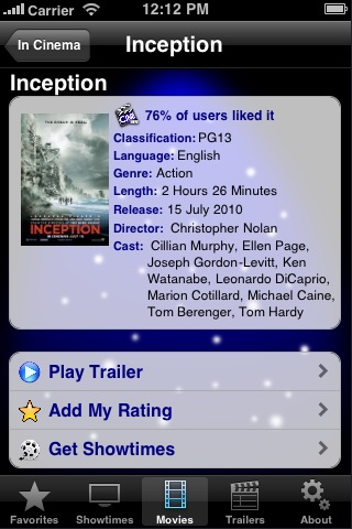 Screenshot #4 for CineApps Malaysia