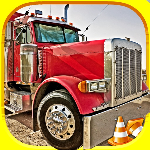 3D Fun Racing Semi-Truck Driving Simulator Game By Top Awesome Trucker Race-Car Games For Teen-s Kid-s & Boy-s Pro