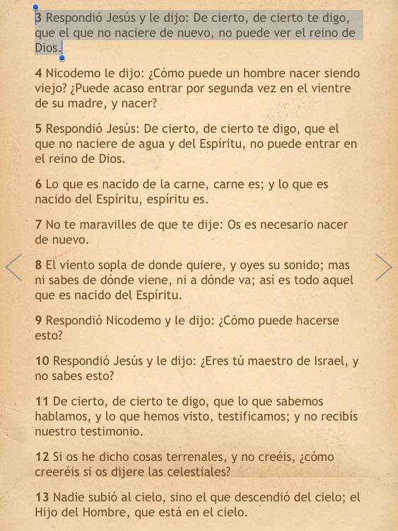 La Biblia Reina Valera para iPad con Audio screenshot-4