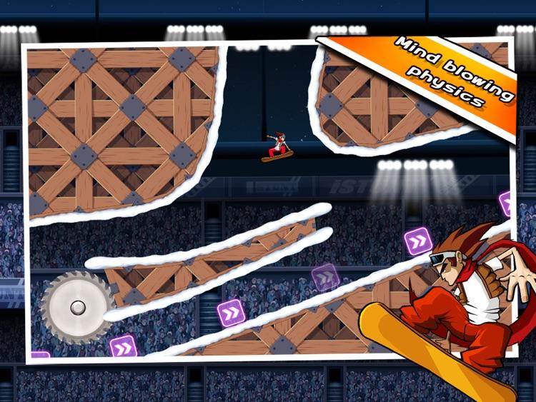 iStunt 2 HD - Snowboard screenshot-3