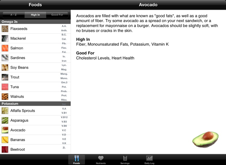 iEatHealthy for iPad - Eat Right Without Dieting