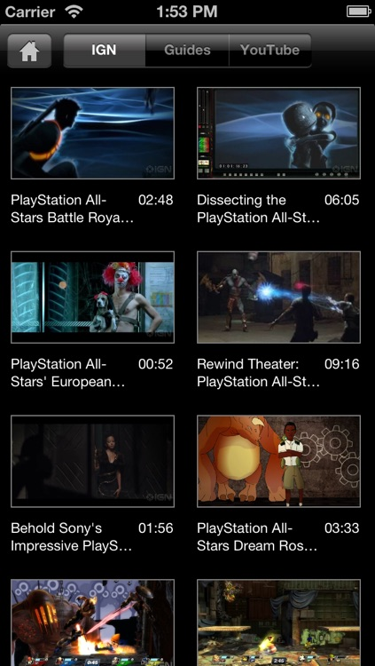 IGN App For PlayStation All-Stars Battle Royale screenshot-4