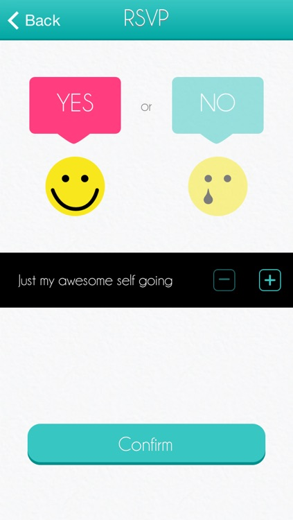 Big Day - the free wedding invitation tracker app