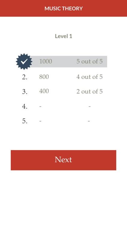 Music Theory Quiz screenshot-4