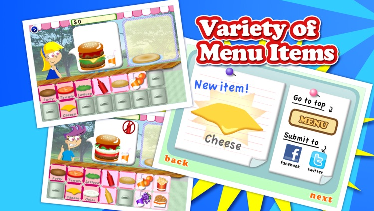 Yummy Burger Free New Maker Games App Lite- Funny,Cool,Simple,Cartoon Cooking Casual Gratis Game Apps for All Boys and Girls screenshot-3