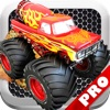 Monster Truck Furious Revenge PRO - A Fast Truck Racing Game!