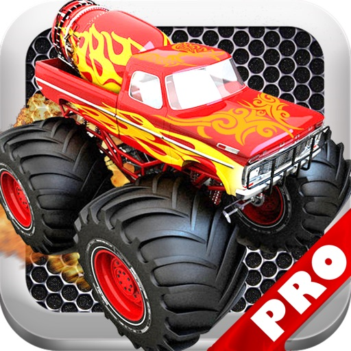 Monster Truck Furious Revenge PRO - A Fast Truck Racing Game! icon