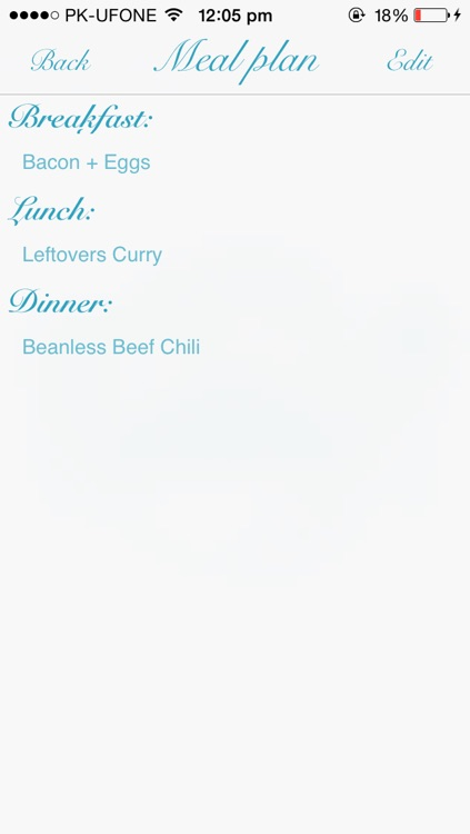 Meal.Planner screenshot-3