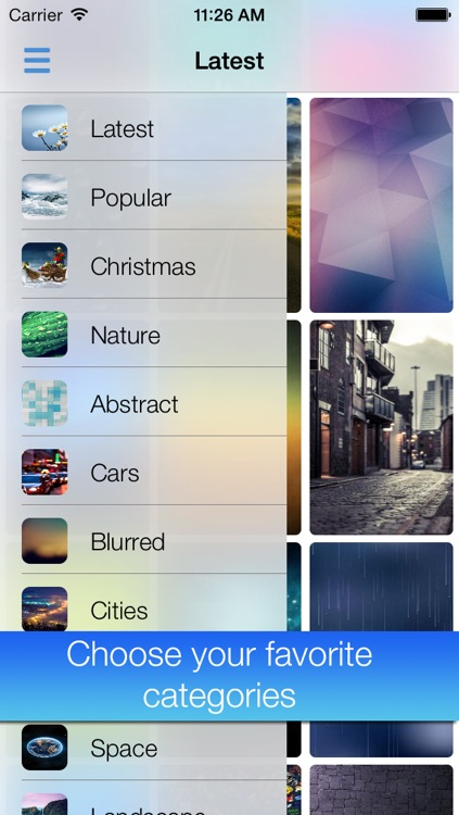Wallpapers+ for iOS 7