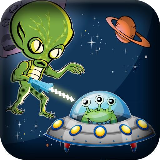 Alien Spaceship Laser Shooting Attack - Space Invasion Hunting Shootout Free