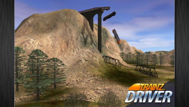 Trainz Driver - train driving game and realistic railroad simulator screenshot-4