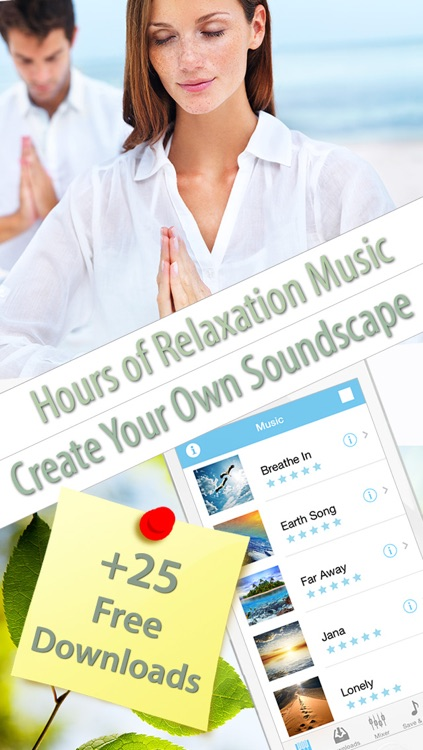 Relaxation Music for Meditation and Stress Relief screenshot-0