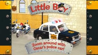 Oscar's police car - Little Boy