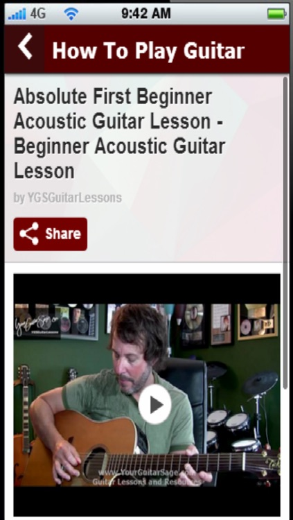 How To Play Guitar: Learn How To Play Guitar Easily screenshot-4