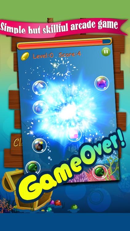 01 Jewel Bubble Mania Blitz - New Shooter Star Dash Saga for Best Cool Funny Girls and Kids Burst Puzzle Free Games screenshot-4