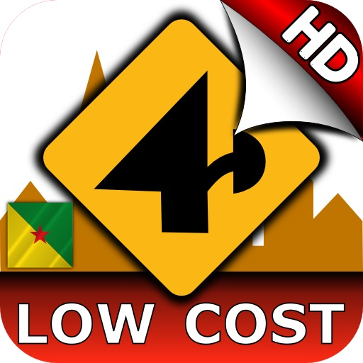 Nav4D French Guiana (LOW COST) HD icon