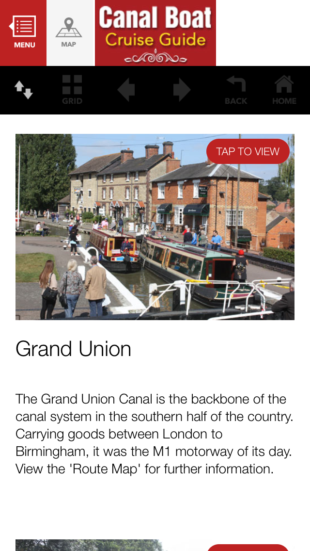 Canal Boat Cruise Guide screenshot one